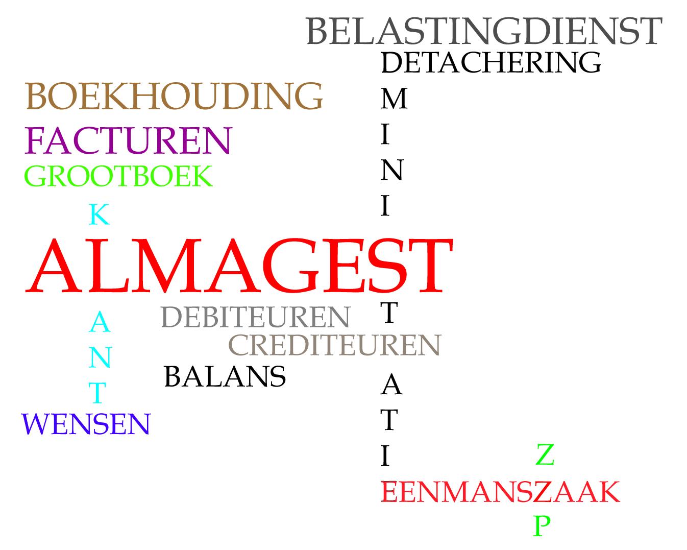 Almagest, hét administratiekantoor voor midden– en kleinbedrijf
